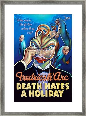 Fredricsh Arc In Death Hates A Holiday Framed Print by Patrick Anthony Pierson