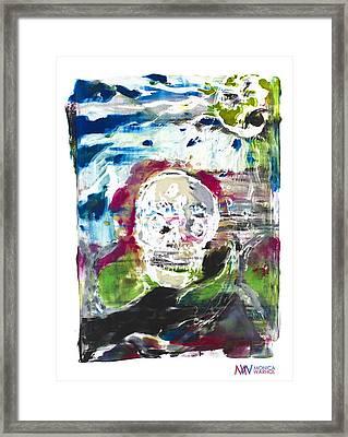 Death Framed Print by Monica Warhol