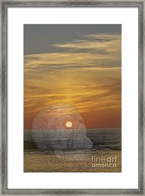 Death Of A Day Framed Print by Terri Waters