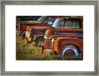 Death Row Sunset Framed Print by Reid Callaway