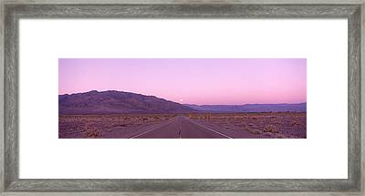 Death Valley National Park, California Framed Print by Panoramic Images