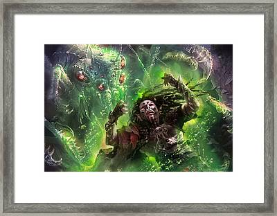 Death's Presence Framed Print by Ryan Barger