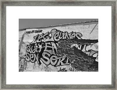 Decadence Framed Print by Frederico Borges