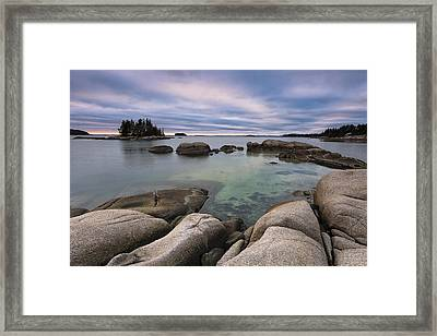 December Afternoon Framed Print by Patrick Downey