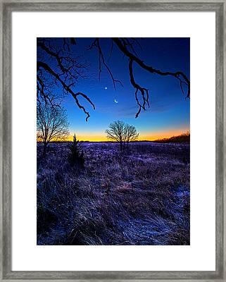 December Blues Framed Print by Phil Koch