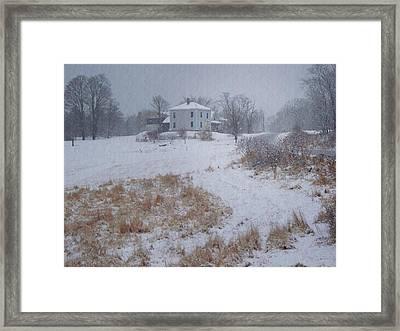 December Framed Print by Joy Nichols