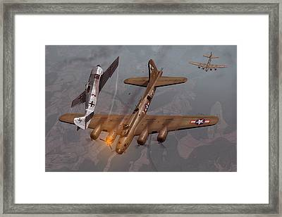 Decision Over Schweinfurt Framed Print by Hangar B Productions