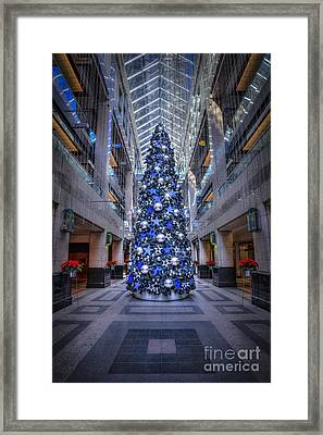Deck The Halls Framed Print by Evelina Kremsdorf