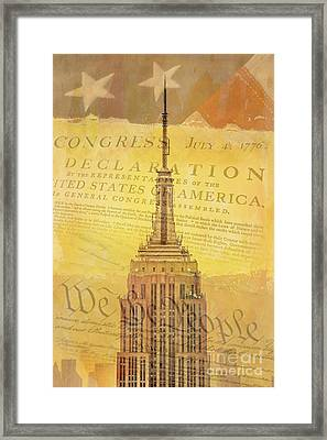 Liberation Nation Framed Print by Az Jackson