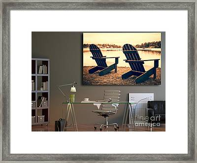Decorating With Fine Art Photography Framed Print by Edward Fielding