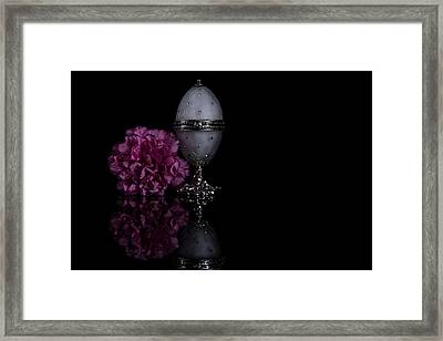Decorative Jewel Egg Framed Print by Eje Gustafsson