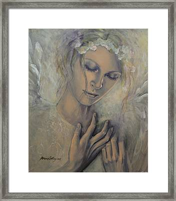 Deep Inside Framed Print by Dorina  Costras