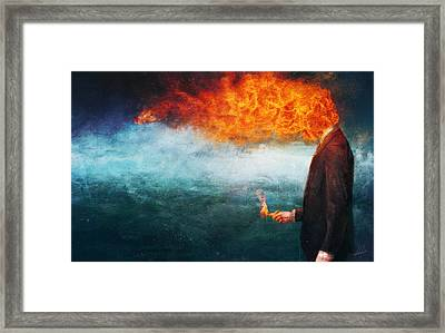 Deep Framed Print by Mario Sanchez Nevado