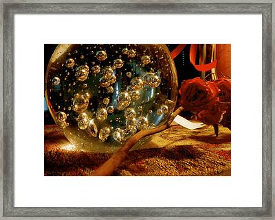 Deep Visions Framed Print by Danielle  Broussard