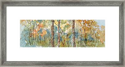 Deep Woods Waskesiu Horizontal Framed Print by Pat Katz