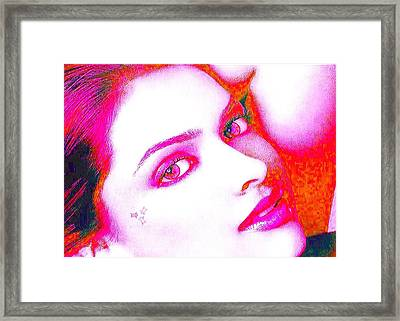 Deepika Padukone Framed Print by Ricky Nathaniel
