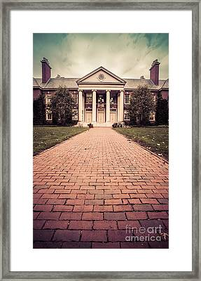 Deerfield Academy Framed Print by Edward Fielding