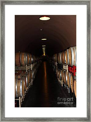 Deerfield Ranch Winery 5d22215 Framed Print by Wingsdomain Art and Photography