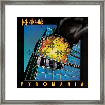 Def Leppard - Pyromania 1983 Framed Print by Epic Rights
