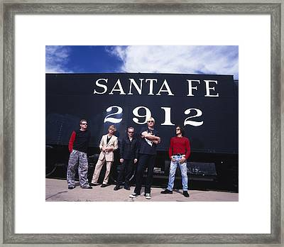 Def Leppard - Santa Fe 1999 Framed Print by Epic Rights