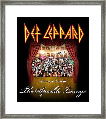 Def Leppard - Songs From The Sparkle Lounge 2008 Framed Print by Epic Rights