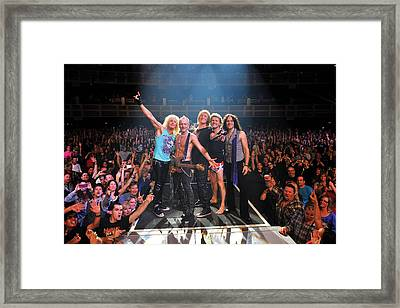 Def Leppard - Viva! Hysteria At The Hard Rock 2013 Framed Print by Epic Rights