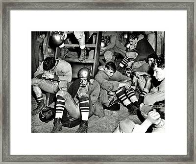 Defeated Framed Print by Benjamin Yeager