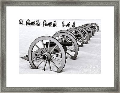 Defensive   Framed Print by Olivier Le Queinec