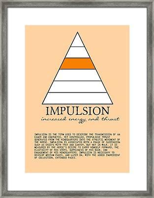 Define Impulsion Framed Print by JAMART Photography