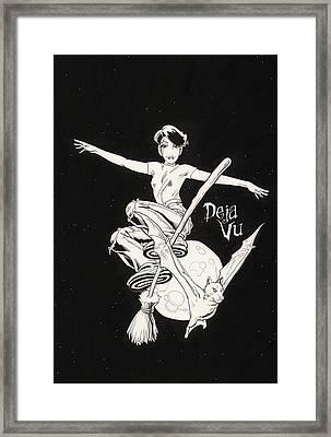 Deja Vu Framed Print by Richard Moore