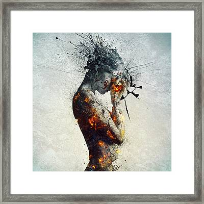 Deliberation Framed Print by Mario Sanchez Nevado