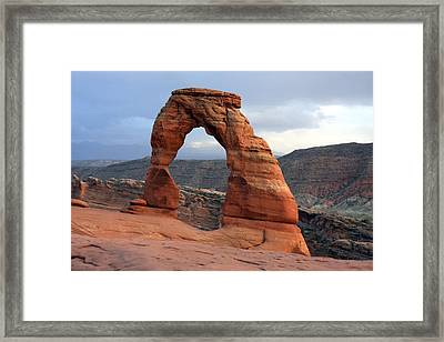 Delicate Arch - Arches National Park - Utah Framed Print by Aidan Moran