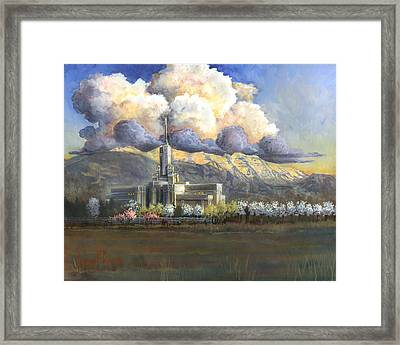 Delicate Spring Time Framed Print by Jeff Brimley