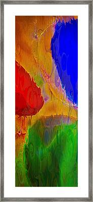 Delicious Colors Framed Print by Omaste Witkowski