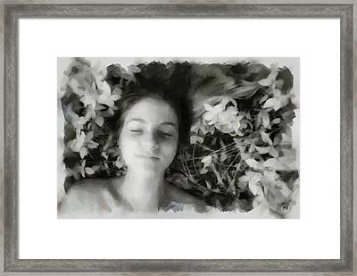 Delight Framed Print by Gun Legler