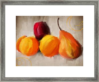 Delight Framed Print by Lourry Legarde