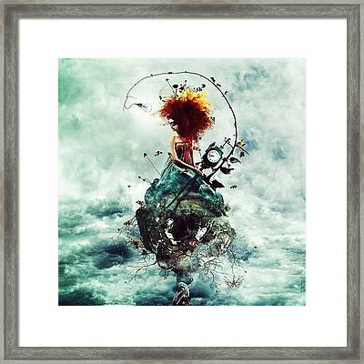 Delirium Framed Print by Mario Sanchez Nevado