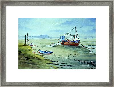 Dell Quay Chichester England Framed Print by Bill Holkham