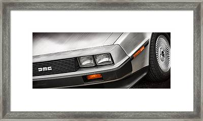 Delorean Dmc-12 Framed Print by Gordon Dean II