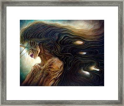 Delphic Zombie Framed Print by Robert Anderson