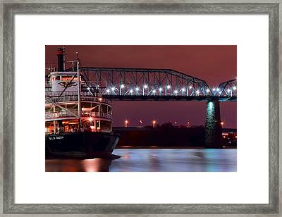 Delta Queen Framed Print by Frozen in Time Fine Art Photography