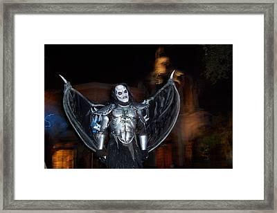 Demon1 Framed Print by Robert Vogt