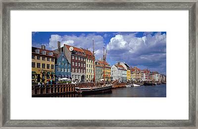 Denmark, Copenhagen, Nyhavn Framed Print by Panoramic Images