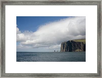 Denmark, Faroe Islands, North Atlantic Framed Print by Cindy Miller Hopkins