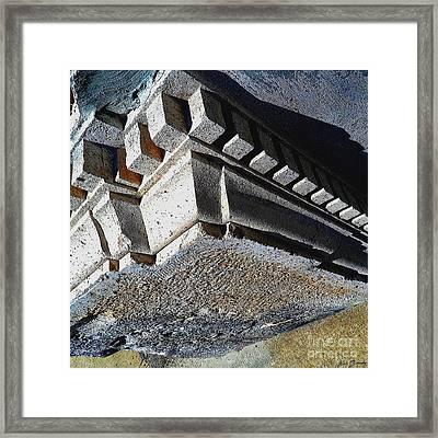 Dent Espace La Verite Trebuche Sur La Place Publique Framed Print by Contemporary Luxury Fine Art