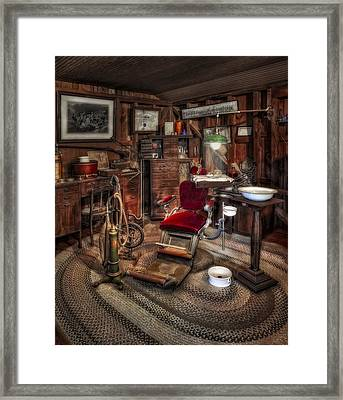 Dentist Office Framed Print by Susan Candelario
