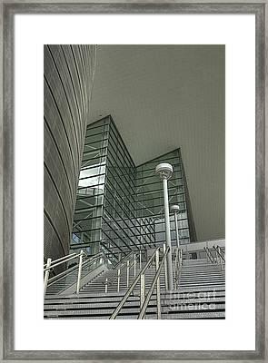 Denver Center For Entertaining Arts Framed Print by David Bearden