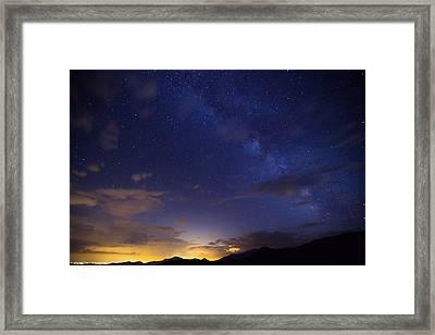 Denver's Milky Way Framed Print by Darren  White