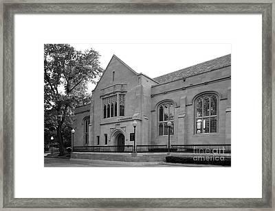 Depaul University Cortelyou Commons Framed Print by University Icons