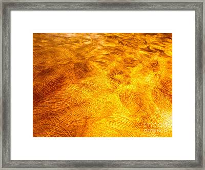 Depiction Of Ions In Outer Space Framed Print by Chuck Taylor